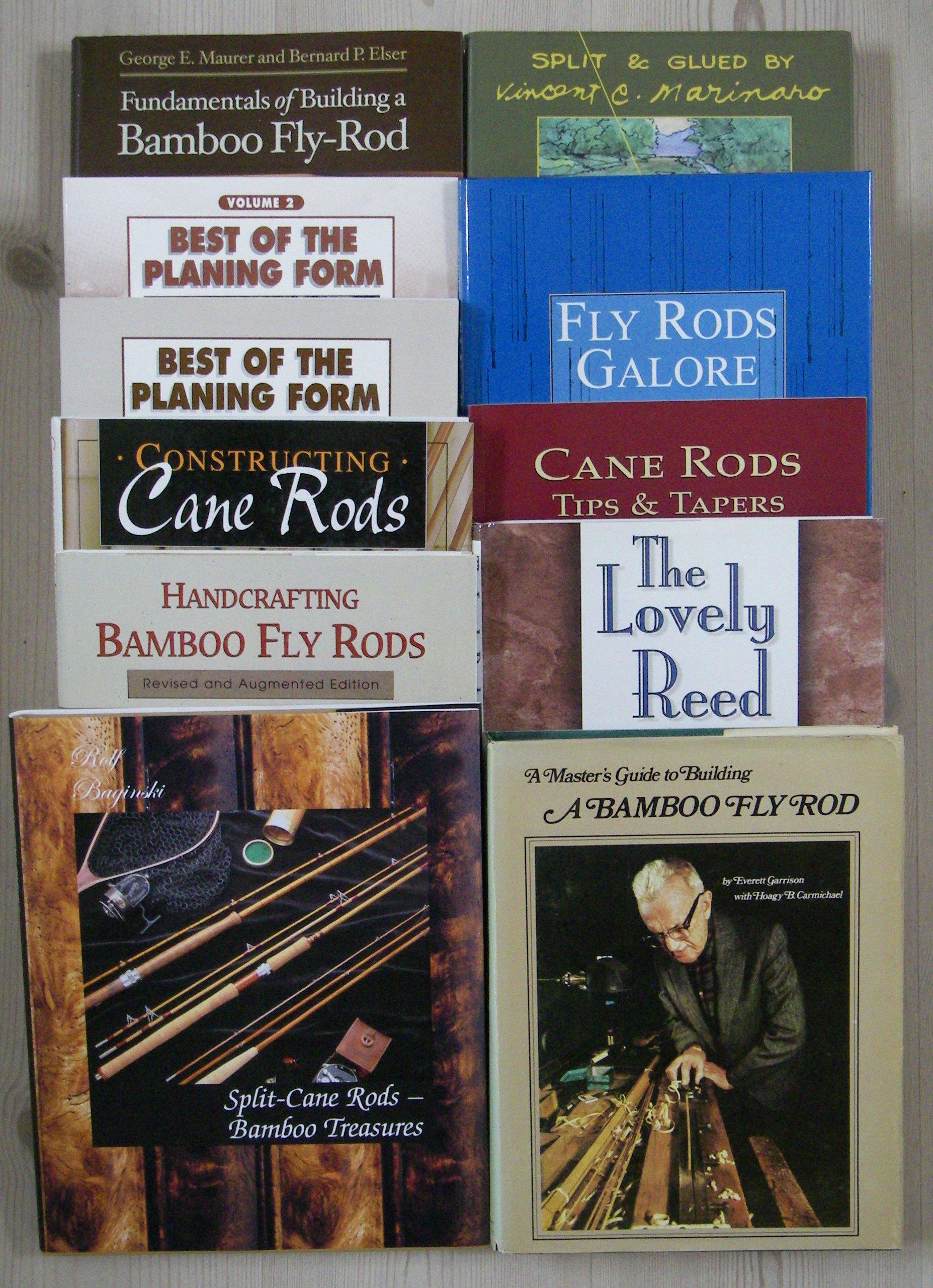 fishing rod building books